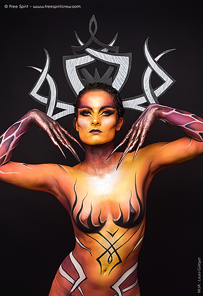 Free Spirit Creative - Agence artistique - maquillage body painting maquilleurs maquilleuses